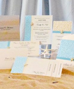 Coastal Chic Wedding Invitation Collection