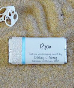 Beach Chocolate Wedding Favour by Something Fabulous