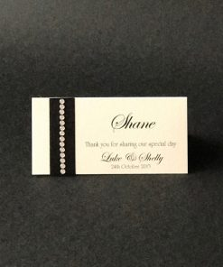Solitaire Place Card