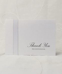 Grand Affair A6 Folding Thank You card 1