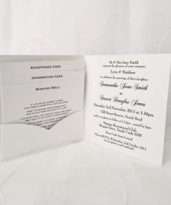 Grand Affair Square Folding Invitation 2