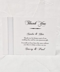 Grand Affair A6 Thank You card