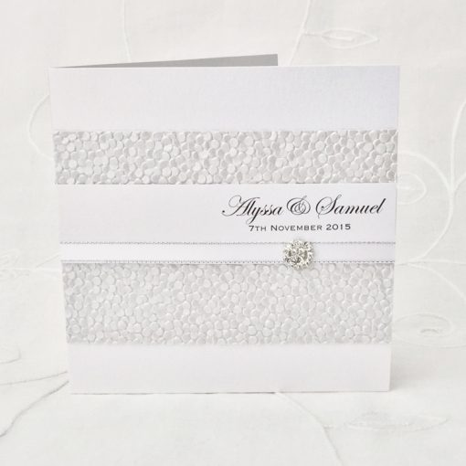 Grand Affair Square Folding Invitation 1