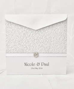 Grand Affair Square Pouch Invitation 1
