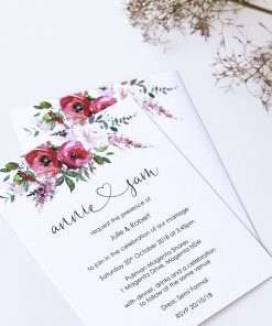 Blush & Bashful Invitations