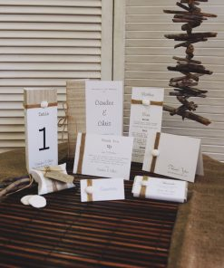 Love Shack Reception Stationery