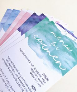 Aquarelle DL Menus