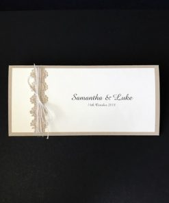 Natural Wedding Invitation