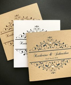 Divine Inspiration Square Folding Invitations