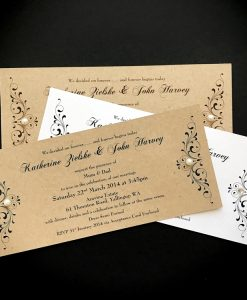 Divine Inspiration DL Invitation