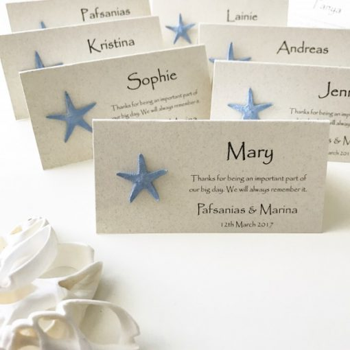Ocean Breeze Beach Place Cards