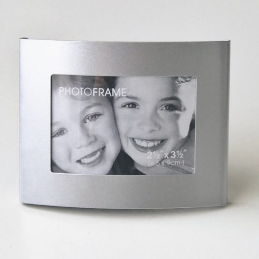Silver Place Card Photo Frame