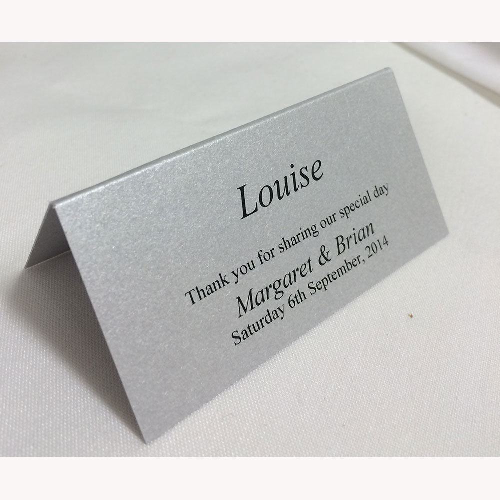 place card - Printed Place Cards