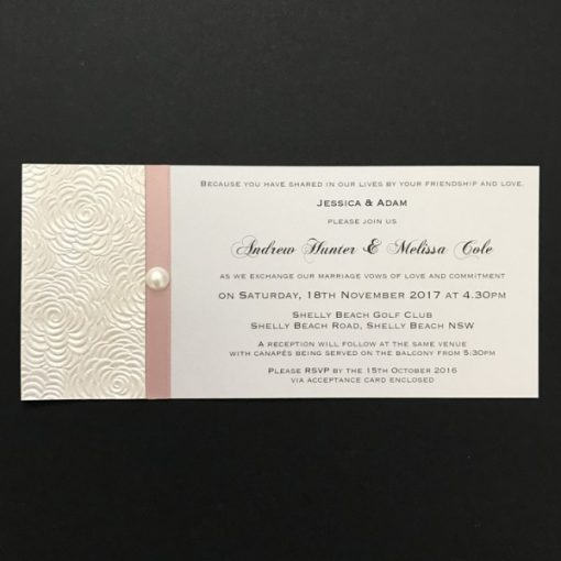 Simply Elegant DL Invitation