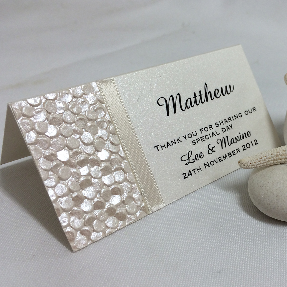 Ideas For Wedding Place Cards: Something Fabulous Invitations