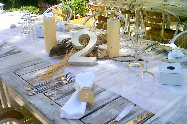 Eco Chic Natural Beach Wedding