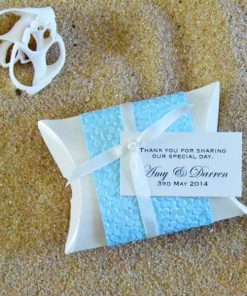 Beach Pillow Box by Something Fabulous