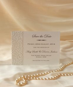 Fine Romance A6 Save the Date Card