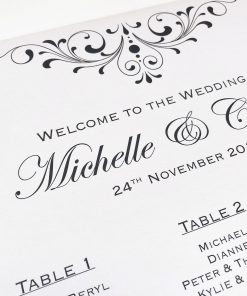 Divine Inspiration Table Seating Plan