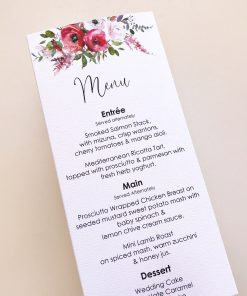 Blush & Bashful 3D Menu